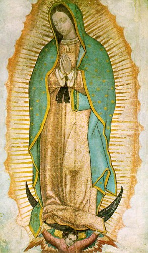 Madonna di Guadalupe-Messico