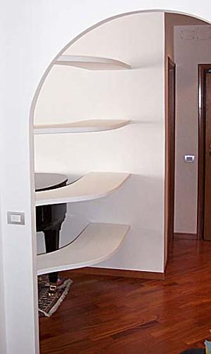 mensole curve iii portfolio interiors dagallo