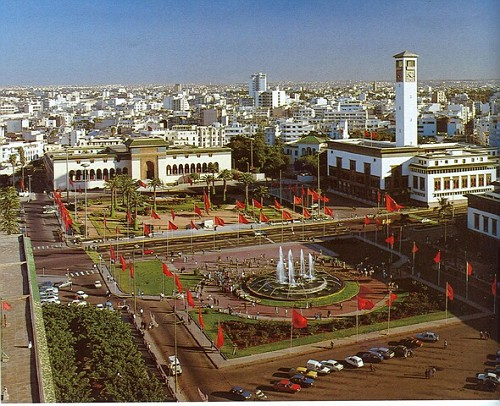 Casablanca piazza mohammed 5 marocco rellogiramondo - Marocco casablanca ...