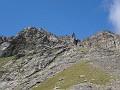 La cresta Chenaille-Salliousa