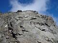 La cresta verso la Salliousa