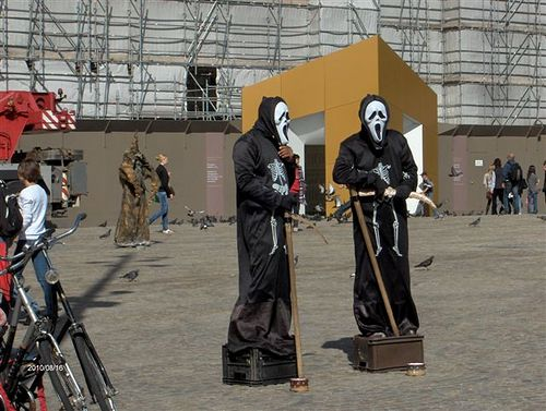 Amsterdam, le maschere