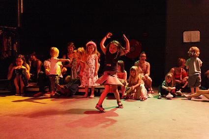 Wonderland. Quando i bambini diventano performer