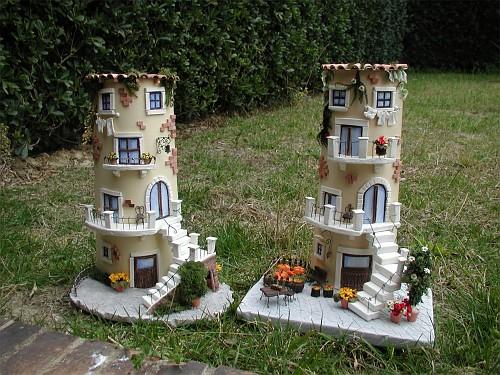 Le due tegole grandi tegole decorate 3d gli hobby di cally - Tegole decorate ...